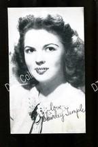 SHIRLEY TEMPLE-1950-ARCADE CARD-PORTRAIT G - $16.30
