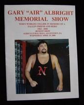 """Gary """"Air"""" Albright Memorial Show Program 4/19/00 - $19.99"""