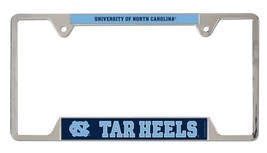 North Carolina Tarheels Heavy Duty Chrome Metal License Plate Frame - $13.95