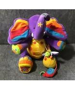 """Tolo Tiny The Elephant 12.5"""" Multicolor Sensory Educational Activity Bab... - $44.55"""