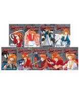 RUROUNI KENSHIN English MANGA Series Books 1-28 in 9 OMNIBUS EDITIONS 1-9 - $123.99