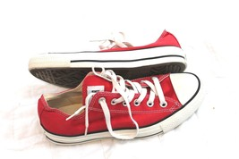 Converse Chuck Taylor All Star Red Canvas Athletic Sneakers Shoes Sz 6 MEN 8 WNM - $24.75