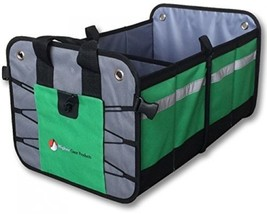 Road Trip Car Trunk Organizer Auto Mobile Storage Best Heavy Duty Constr... - €32,44 EUR