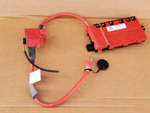 BMW F30 F22 F32 Rear Trunk Positive Battery Distribution Terminal Cable
