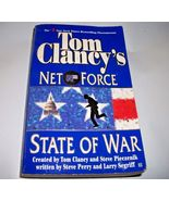 Net Force: State of War created by Tom Clancy GIFT QUALITY NEW PAPERBACK - $5.93