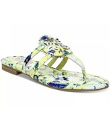 CIRCUS BY SAM EDELMAN CANYON MEDALLION FLAT SANDALS SHOE YELLOW BLUE FLORAL 8 M - $55.00