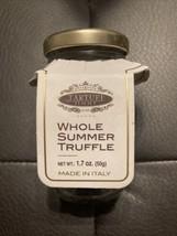 New & Sealed Tartufi Jimmy Whole Black Summer Truffles 50g/1.7oz Jar BB:... - $24.16