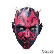 Star Wars Darth Maul Latex Costume Mask Adult - $41.24