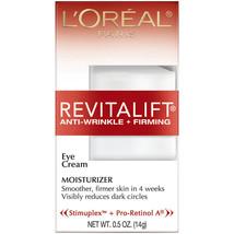 L'Oreal Paris Revitalift Anti-Wrinkle + Firming Eye Cream 0.5 oz - $15.29
