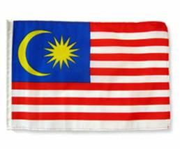 "12x18 12""x18"" Malaysia Sleeve Flag Boat Car Garden - $6.88"