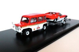New PLANEX COLLECTION Spark 1/43 Mini Moke & Lotus 47 Gold Leaf Japan F/S - $206.47