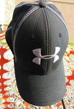 *Under Armour Heatgear Stretch Fit Cap Fitted Hat MD/LG Grey - $14.96