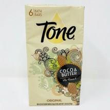 Tone Original Cocoa Butter with Vitamin E Bath Bar Soap 6 Bars NEW HTF RARE - $27.65