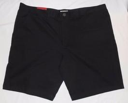 Merona 44 Schwarz Nwt Herren Neue Glatt Vorne Shorts - $20.36