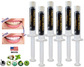 Activated Charcoal Gel for Natural Teeth Whitening - Fresh Teeth Whitener - USA  - $13.99