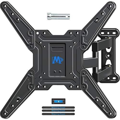 Mounting Dream TV Wall Mounts TV Bracket for Most 26-55 Inch TVs, TV Mount with