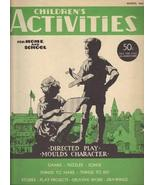 Children's Activities for Home and School (March, 1945, Vol. 11- No. 2) ... - $9.52