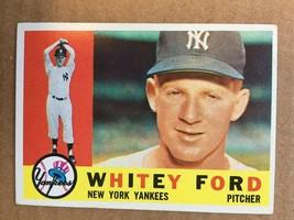 1960 Topps #35 Whitey Ford Baseball Card NM New York Yankees RF1 - $49.99
