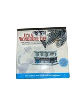 Used It's A Wonderful Life Bailey Savings & Loan Ornament Porcelain- Lights Up - $21.78
