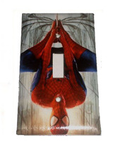 Spiderman Spider man drop down Light Switch Outlet Toggle Rocker Wall Cover Plat image 1