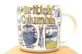 Starbucks 2018 British Columbia, Canada Been There Collection Mug NEW IN BOX - $32.45