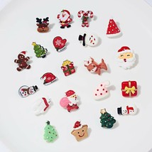 Trendy Christmas Brooch Set with Paper Card Badges Pins  - $3.46+