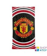 MANCHESTER UNITED BATH BEACH TOWEL OFFICIAL FOOTBALL SOCCER CLUB TEAM NEW - $22.36