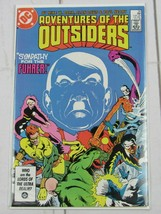 ADVENTURES OF THE OUTSIDERS  # 35 DC COMIC 1986 - C4644 - $1.99