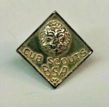 Boy Scouts BSA Cub Scout pin Vintage Pin LION HEAD Pre WW2 - $18.69