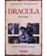 Dracula Brams Stoker Graphic Classics Barron's Brand New 2007 Gelev, Mac... - $9.99