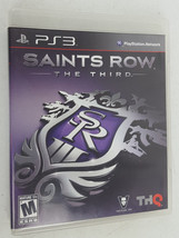 Saints Row the Third Complete Playstation 3 PS3 Video Game  - $8.00