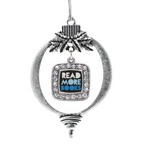 Inspired Silver Read More Books Classic Holiday Decoration Christmas Tree Orname - $14.69