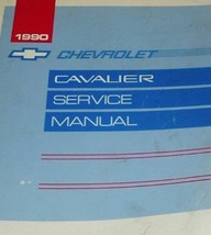 1990 GM Chevy Chevrolet Cavalier Service Shop Repair Workshop Manual OEM... - $9.89