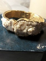 Vintage Crawford Ladies Bracelet Hidden Wind Up Watch Rare Victorian  21... - $44.55