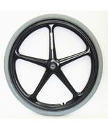 """24 x 1 3/8"""" Wheelchair X-Core 5 Spoke Mag Wheel (Pair) - 1/2"""", 7/16"""" & 1... - $250.00"""