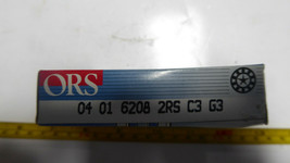 ORS 6208 2RS C3 G3 Deep Groove Ball Bearing SET OF 2 New image 2