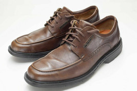 Clarks 8.5 Brown Oxford Dress Shoes - $24.00
