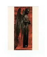 "ART CARD - ""ANGEL"" - BRONZE SCULPTURE BY JEAN BARBET- BK 13 - $1.47"
