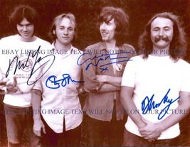 DAVID CROSBY STEPHEN STILLS GRAHAM NASH AND NEIL YOUNG SIGNED 8x10 RP PH... - $18.99