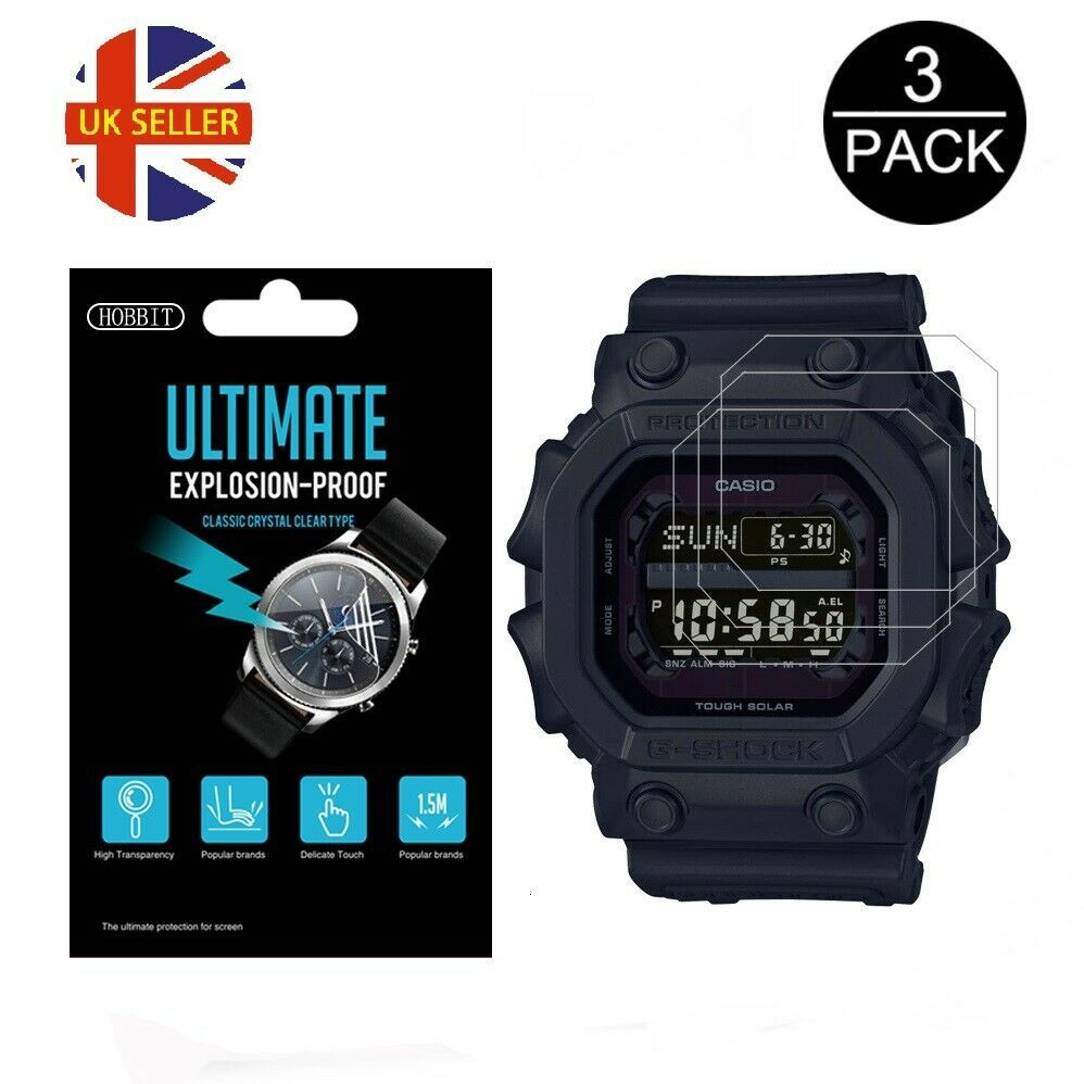 Primary image for 3x Watch Screen Protector anti scratch film for Casio G Shock GX-56BB