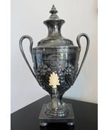 Large Vintage Antique 1899 Coffee Tea Urn Silver Plate - $152.21