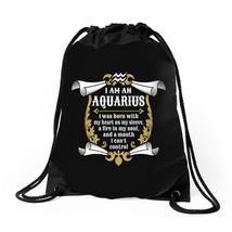I Am An Aquarius Drawstring Bags - $30.00