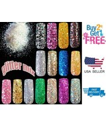 Holographic Glitter Mix Dots Gel Nail Art & Acrylic Nail Design BUY 2 GE... - $1.88+