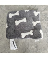 THOSOLTH Plush Dog Bed Pet Cushion Crate Mat Washable Pet Bed for Small... - $12.80