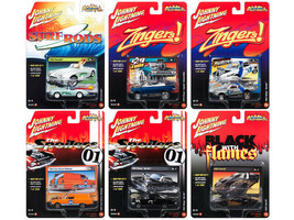 Johnny Lighting Street Freaks 2017 Release 1C Set of 6 cars 1/64 Diecast  - $55.44