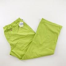 Code Happy Women's Scrubs 2XL Mid-Rise Green Drawstring Pants Palm Tree - $23.74