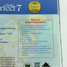 Corel WordPerfect 7 Suite Windows 3.1x  Books and CD Vintage Quattro Pro Paradox image 4