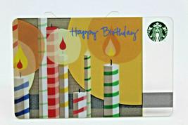 Starbucks Coffee 2010 Gift Card Happy Birthday Candles Zero Balance No V... - $11.27