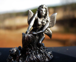 Haunted Butterfly Fairy figurine Positive flow of energy - $55.55