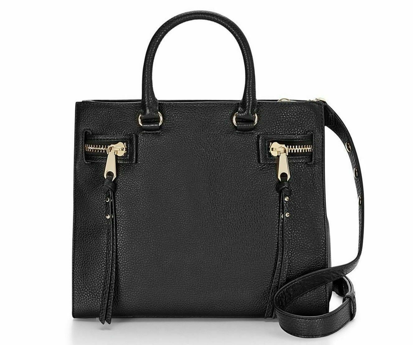 Primary image for Rebecca Minkoff HF26IPBS44 Geneva Grained Cowhide Black Women's Bag